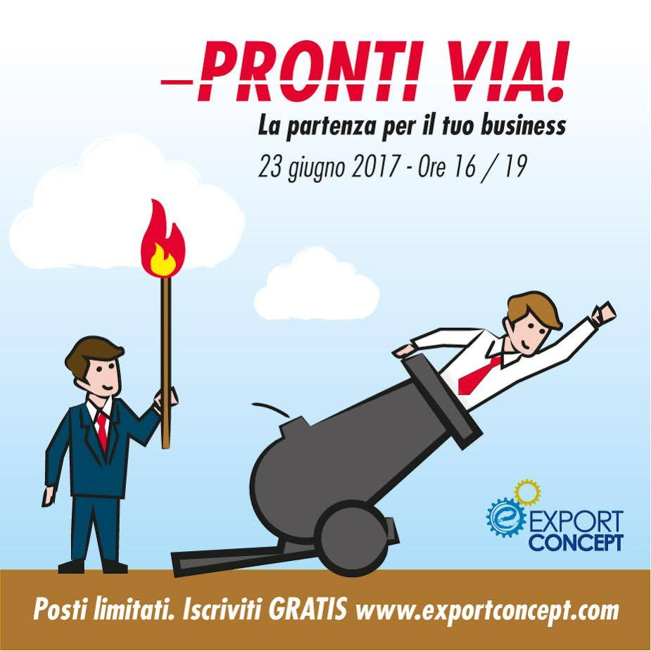 Export Concept Pronti via!