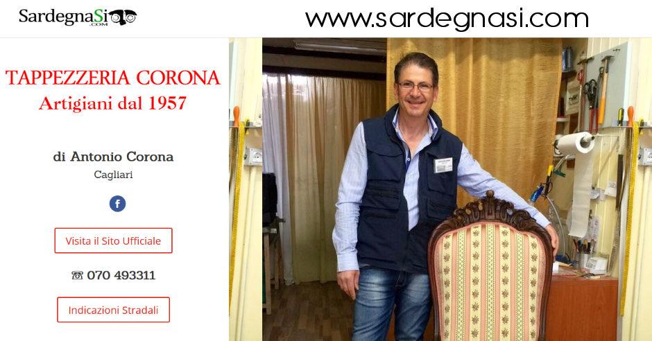 Tappezzeria Corona, Artigiani dal 1957 – Cagliari
